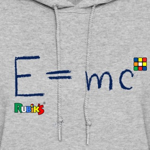 Rubik's Cube Formula Theory Of Relativity Blue - Women's Hoodie