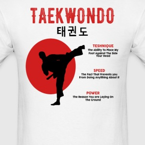 Taekwondo Kick T Shirt - Men's T-Shirt