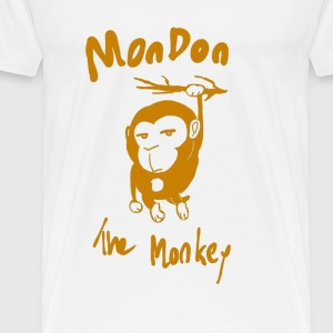 Mondon the monkey - Men's Premium T-Shirt