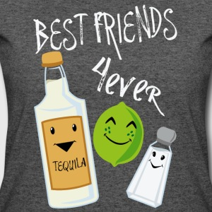 Best Friends Forever Tequila Lime Salt Humor - Women's 50/50 T-Shirt