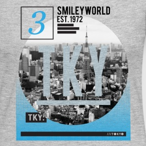 SmileyWorld Tokyo Skyline - Women's Premium Long Sleeve T-Shirt