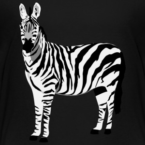 Zebra - Kid's - Kids' Premium T-Shirt