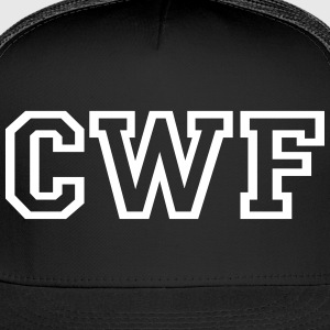 CWF Trucker Cap - Black - Trucker Cap