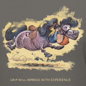 Thelwell Grip will improve - Women's V-Neck T-Shirt