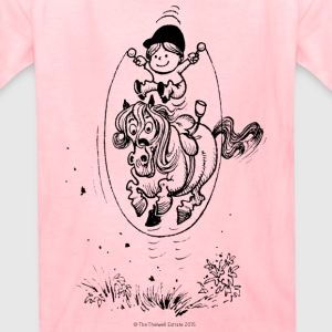 Thelwell Skipping Rope - Kids' T-Shirt