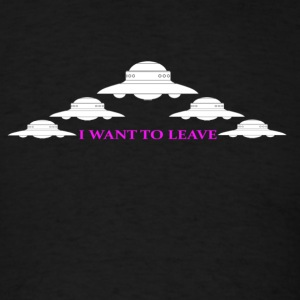 I want to leave - Men's T-Shirt
