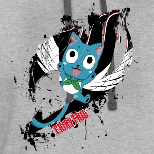 Fairy Tail, Happy - Contrast Hoodie