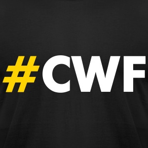 CWF Men's Tee by American Apparel - Yellow/White H - Men's T-Shirt by American Apparel