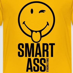 SmileyWorld Smart Ass - Kids' Premium T-Shirt