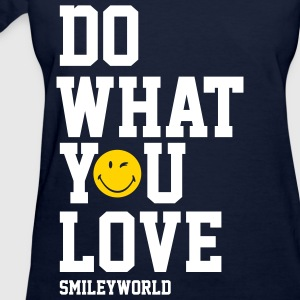SmileyWorld Do What You Love - Women's T-Shirt