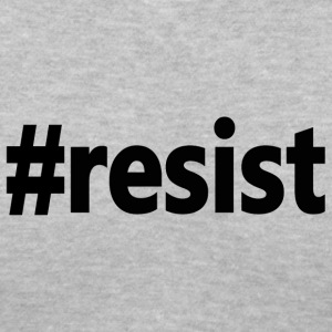 Anti-Trump #resist Resist  - Women's V-Neck T-Shirt