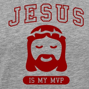 Jesus is my MVP - Men's Premium T-Shirt