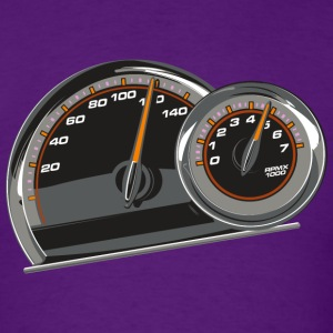 Tach & Speedometer - Men's T-Shirt