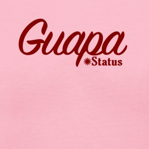 Guapa Status - Women's V-Neck T-Shirt