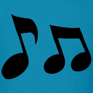 Music Notes - Men's T-Shirt