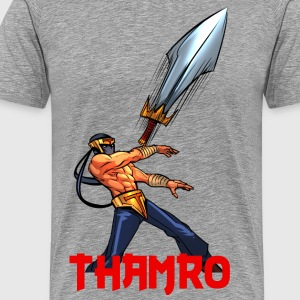 THAMRO Throws CONVERGENCE - Men's Premium T-Shirt