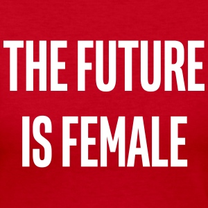 the future is female - Women's Long Sleeve Jersey T-Shirt
