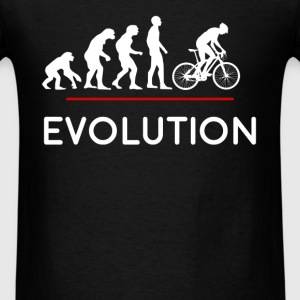 Biking - Evolution - Men's T-Shirt