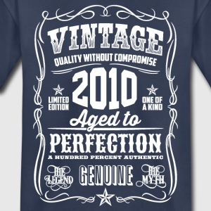 2010 Aged to Perfection White print - Kids' Premium T-Shirt