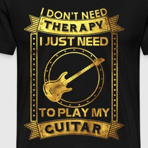 I love my guitar - Men's Premium T-Shirt