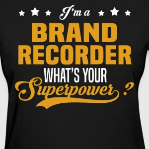 Brand Recorder - Women's T-Shirt