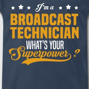 Broadcast Technician - Men's Premium T-Shirt