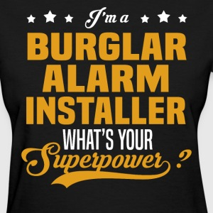 Burglar Alarm Installer - Women's T-Shirt