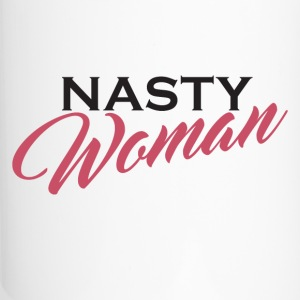 Nasty Woman Nevertheless She Persisted - Travel Mug