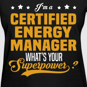 Certified Energy Manager - Women's T-Shirt