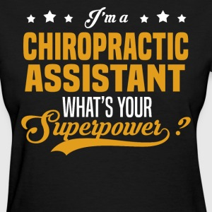 chiropractic assistant womens t shirt - Chiropractic Assistant