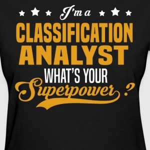 Classification Analyst - Women's T-Shirt