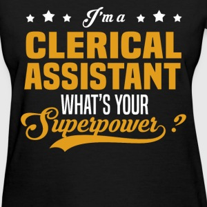 Clerical Assistant - Women's T-Shirt