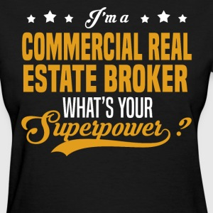 Commercial Real Estate Broker - Women's T-Shirt