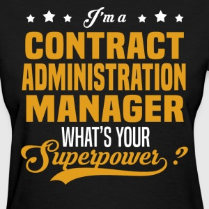 Contract Administration Manager - Women's T-Shirt
