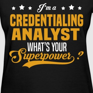 Credentialing Analyst - Women's T-Shirt