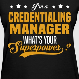 Credentialing Manager - Women's T-Shirt