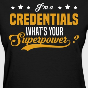 Credentials - Women's T-Shirt