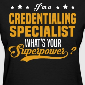 Credentialing Specialist - Women's T-Shirt