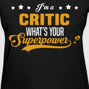 Critic - Women's T-Shirt