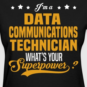 Data Communications Technician - Women's T-Shirt