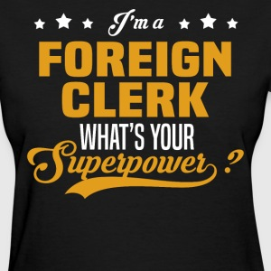 Foreign Clerk - Women's T-Shirt