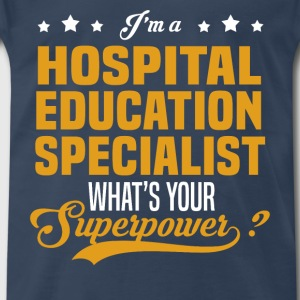 Hospital Education Specialist - Men's Premium T-Shirt