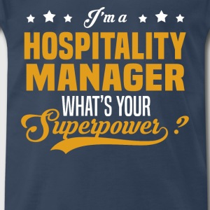 Hospitality Manager - Men's Premium T-Shirt
