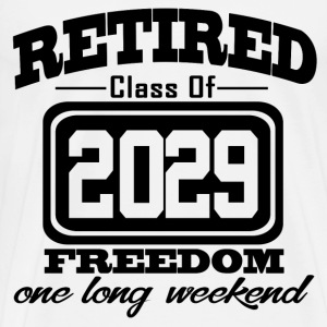retired 2029 1.png T-Shirts - Men's Premium T-Shirt