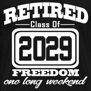 retired 2029 34.png T-Shirts - Men's Premium T-Shirt
