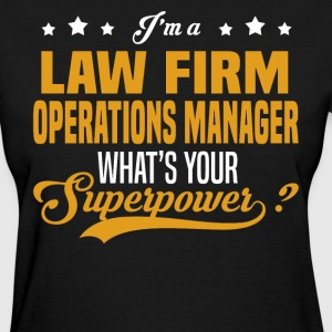 Law Firm Operations Manager - Women's T-Shirt
