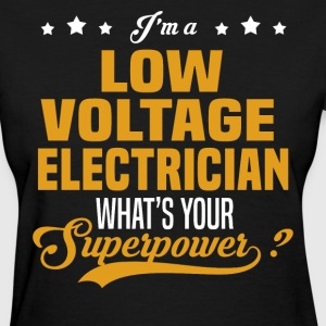 Low Voltage Electrician - Women's T-Shirt