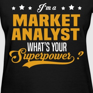 Market Analyst - Women's T-Shirt