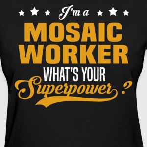 Mosaic Worker - Women's T-Shirt