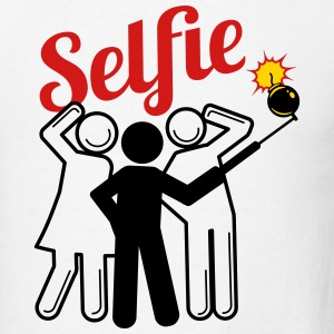Selfie Bomb - Men's T-Shirt